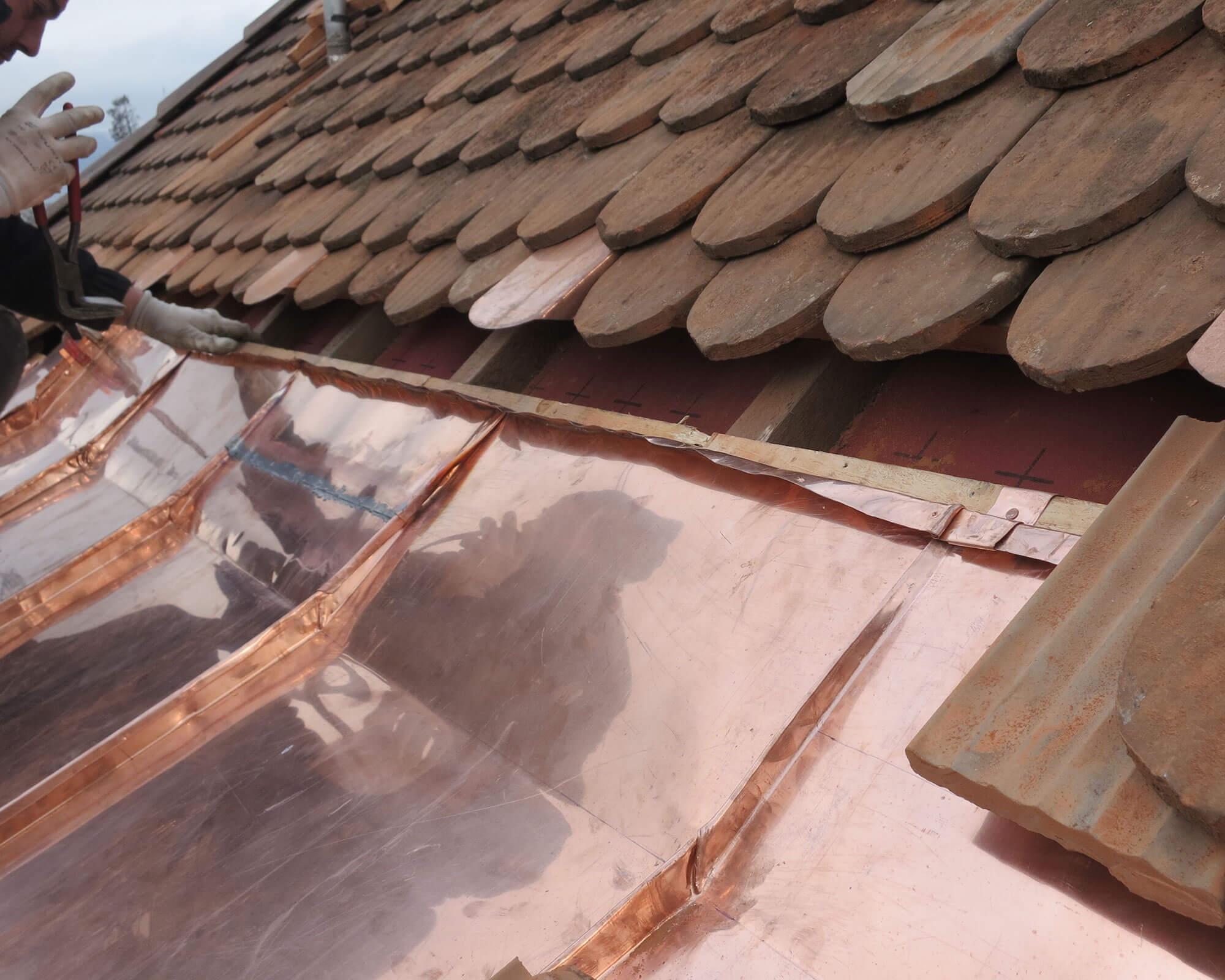 Couverture de toiture à Genève - Kroepfli Toiture