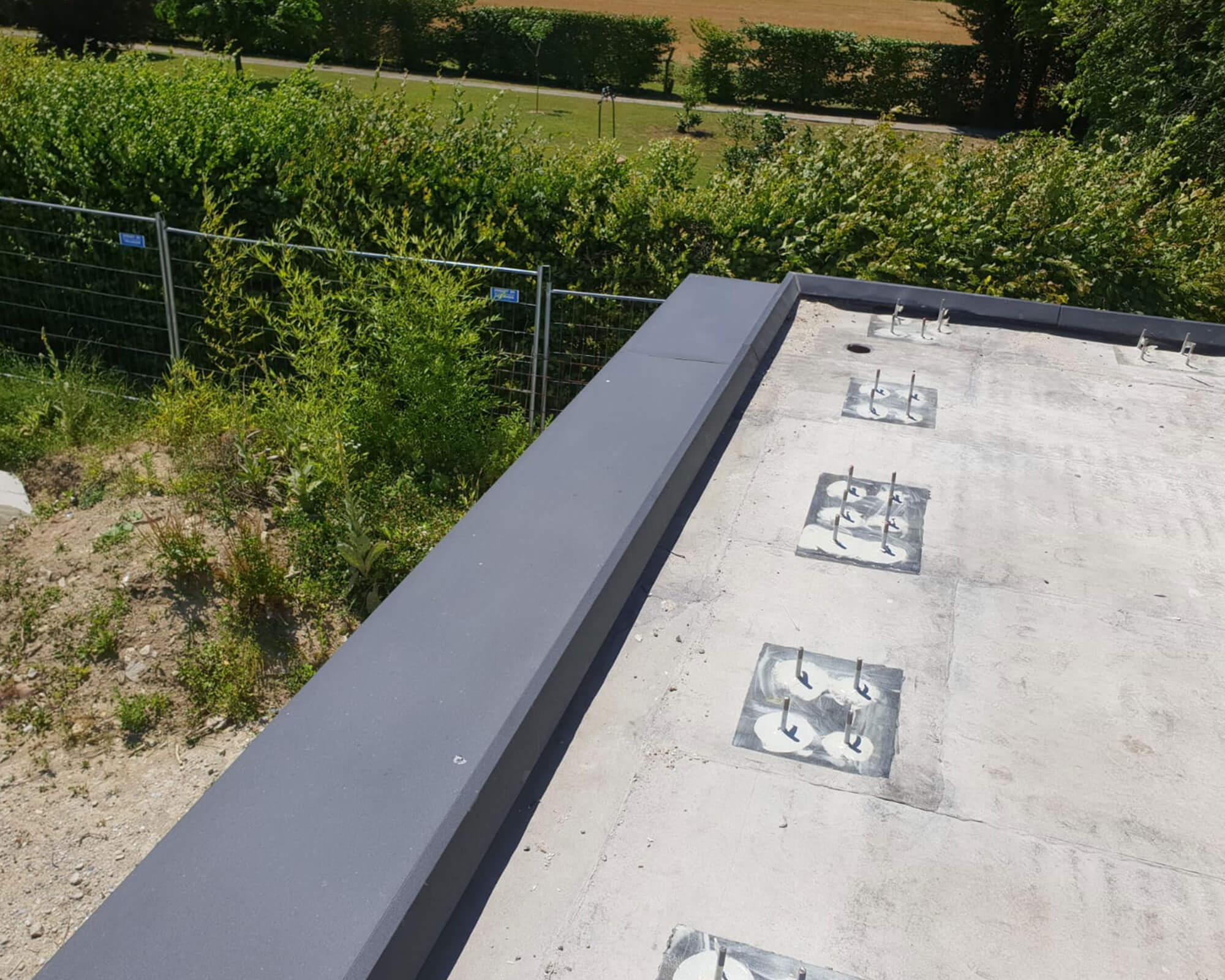 Travaux d'étanchéité effectué sur un chantier de Genève - Kroepfli Toiture