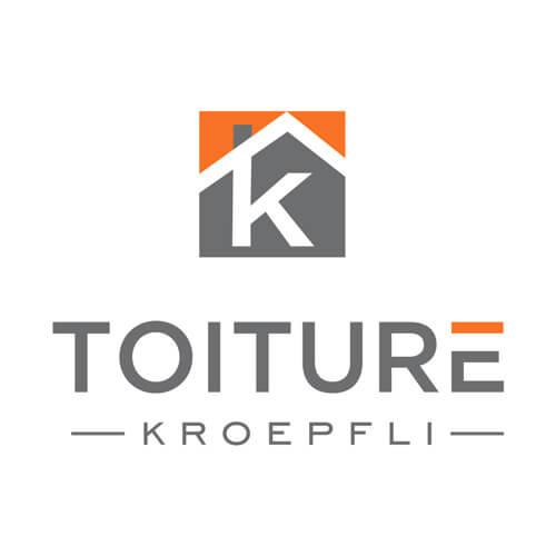 Logo petit couleur - Kroepfli Toiture