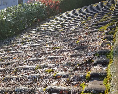 Entretien de toiture avant intervention - Kroepfli Toiture
